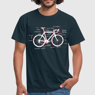 Bicycle parts - T-shirt herr