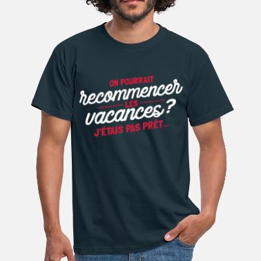 vacance - T-shirt Homme