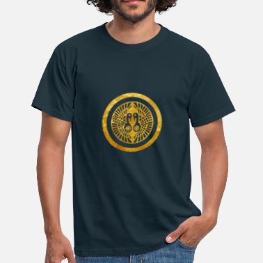 Clan Japan Ikko Ikki Mon Japanese clan in faux gold - Men's T-Shirt