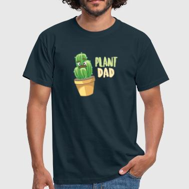 Plant Dad Gift Funny Succulent Cactus - T-shirt Homme