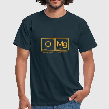 OMg - oxygen and magnesium 2 - Men's T-Shirt