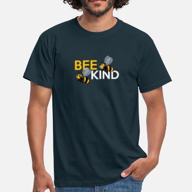 BEE KIND bees - Men's T-Shirt