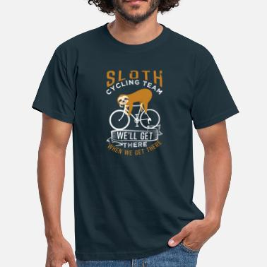 Sloth Cycling Team Sloth Cycling Team - Men's T-Shirt