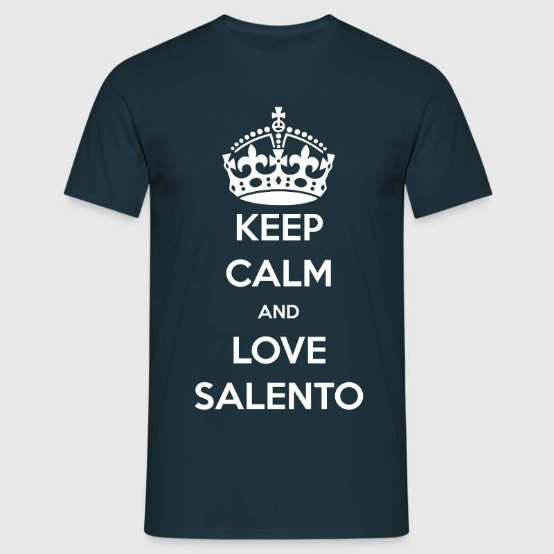 KEEP CALM LOVE SALENTO  - Maglietta da uomo