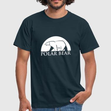 Polar Bear blanc - T-shirt Homme