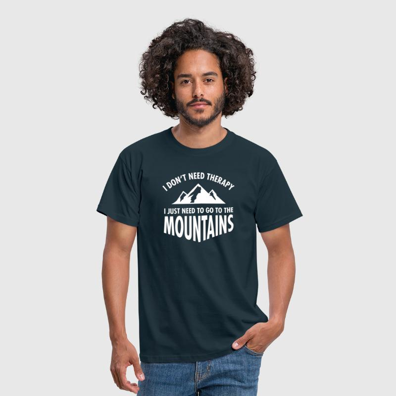 Therapy - Mountains - T-shirt Homme