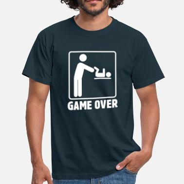 Changer Game Over Parents  - T-shirt Homme