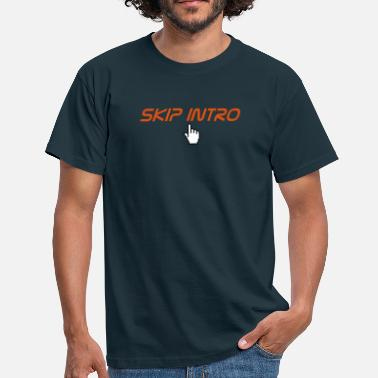 Website skip intro - Mannen T-shirt