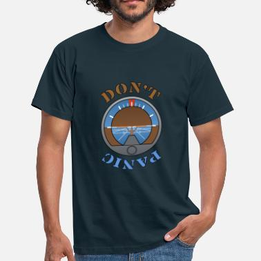 Dont Panic Dont Panic - Men's T-Shirt
