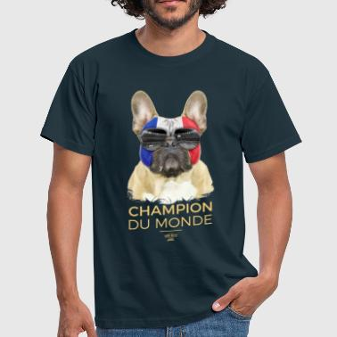 Football Champion du monde - France - T-shirt Homme