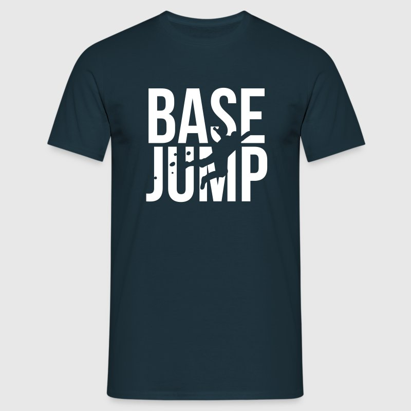 BASE jump - Men's T-Shirt