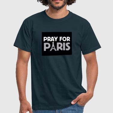 Pray For Paris Pray for Paris - T-shirt Homme