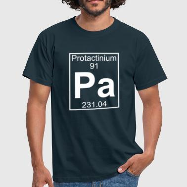 Element 091 - Pa (protactinium) - Full - Camiseta hombre