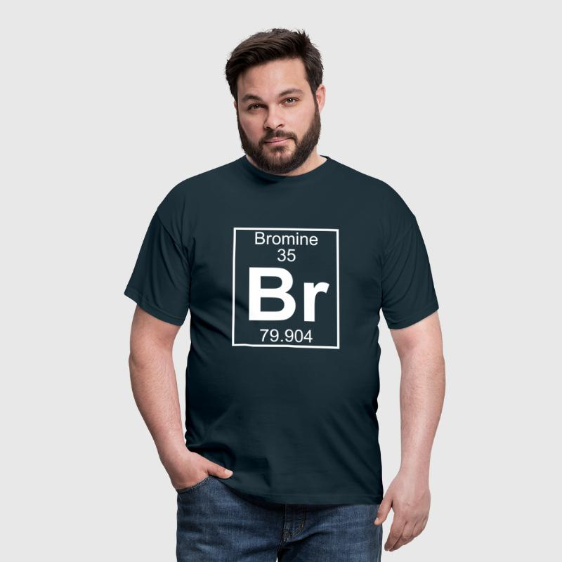 Periodic table element 35 - Br (bromine) - BIG - T-shirt Homme