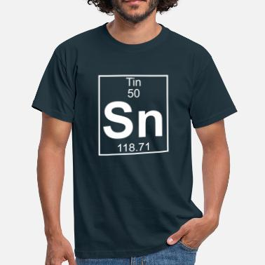 Tin Element 050 - Sn (tin) - Full - Camiseta hombre