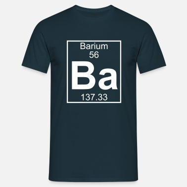 Ba Barium (Ba) (element 56) - Men's T-Shirt