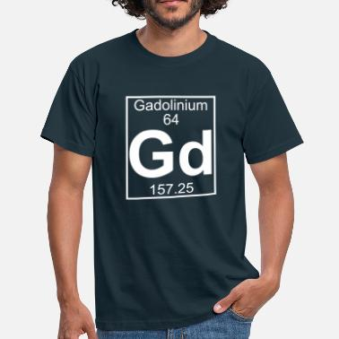 Gd Element 064 - Gd (gadolinium) - Full - Maglietta da uomo