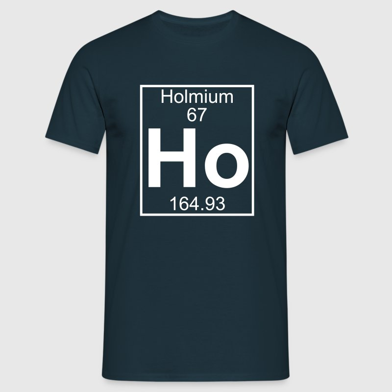 Holmium (Ho) (element 67) - Men's T-Shirt