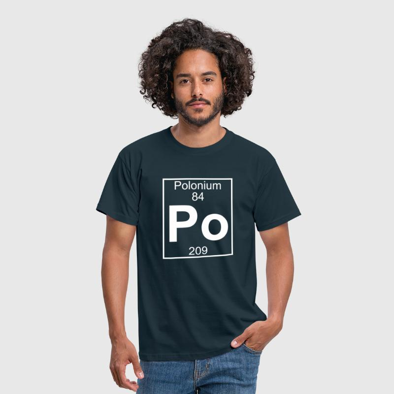 Polonium (Po) (element 84) - Men's T-Shirt