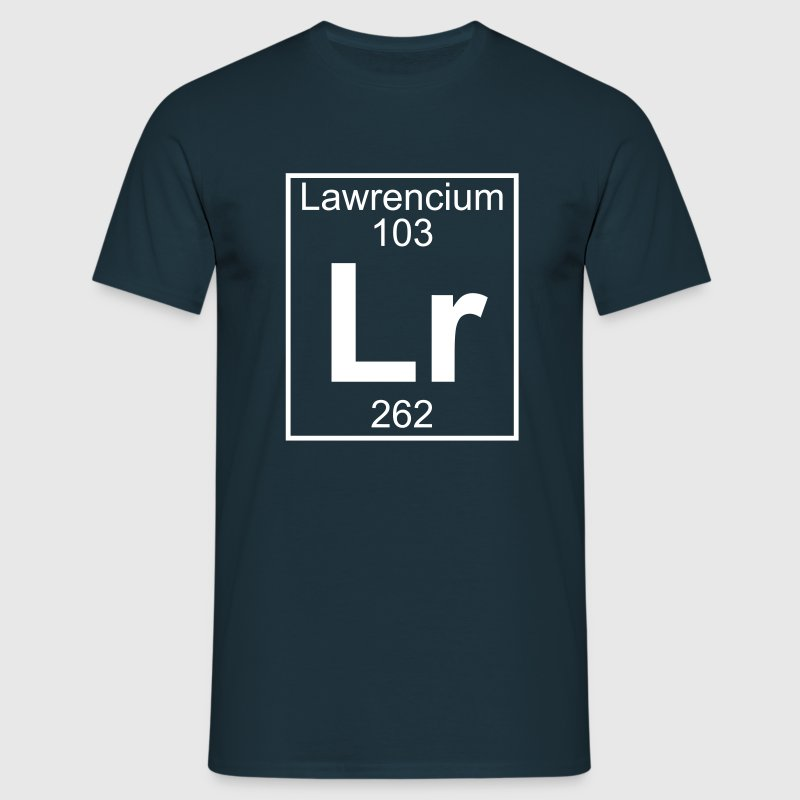Lawrencium (Lr) (element 103) - Men's T-Shirt