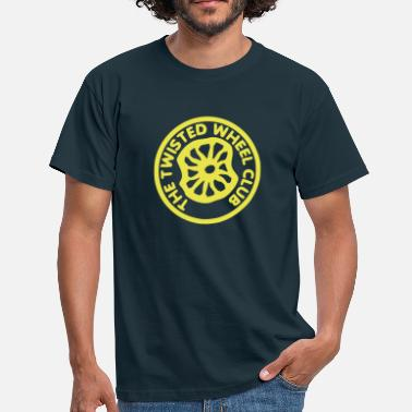 Motown Twisted Wheel - Men's T-Shirt