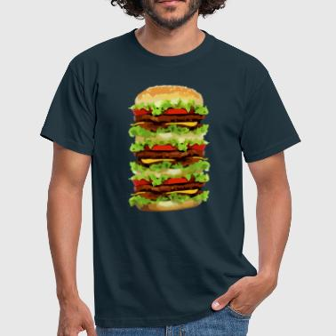 XXL Hamburger - Men's T-Shirt