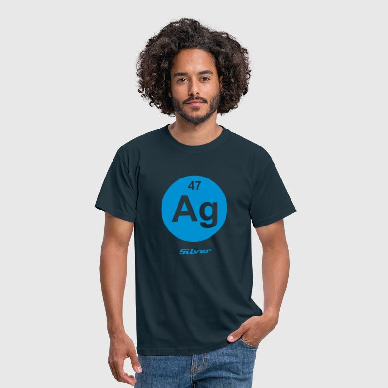 Element 47 - ag (silver) - Minimal-inverse - Camiseta hombre