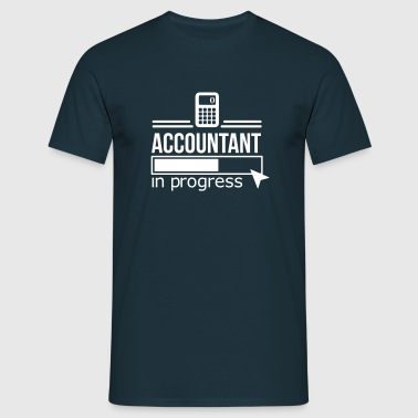 accountant - Mannen T-shirt