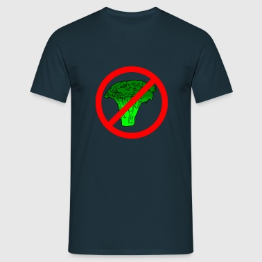 no broccoli allowed - Men's T-Shirt