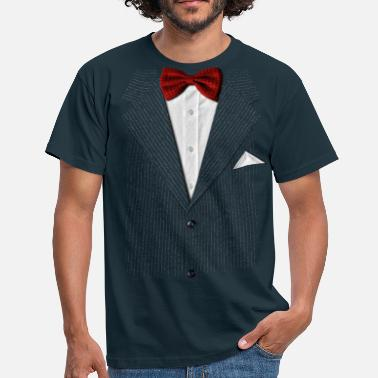 Stag bow tie - Men's T-Shirt