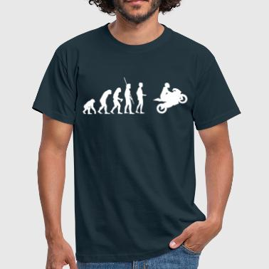 Evolution Ninja Evolution Motorcycle  - Men's T-Shirt