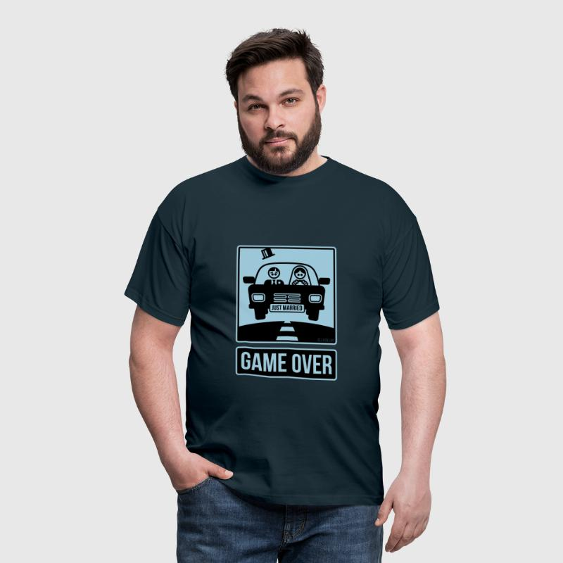 Just Married – Game Over (2C) - Men's T-Shirt