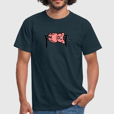 Pig Barbecue - T-shirt Homme
