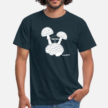 brainmushrooms - Men's T-Shirt