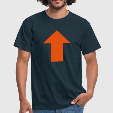 Upvote style arrow - Men's T-Shirt