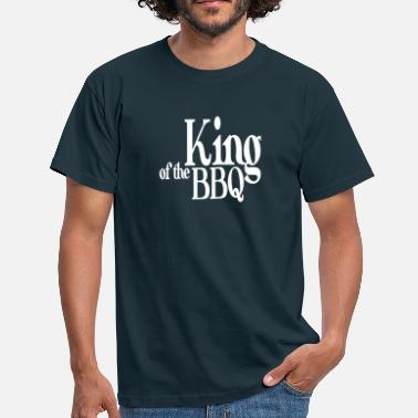 Koning king of the bbq - T-shirt Homme