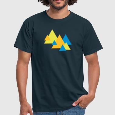 Triangle Landscape - Herre-T-shirt