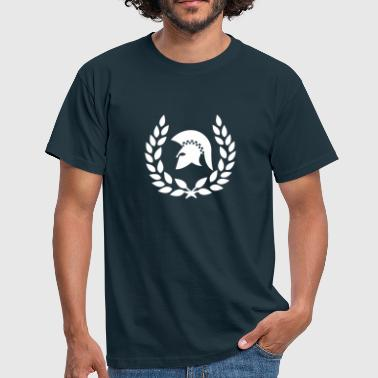 Ska laurel wreath trojan reggae&ska - Men's T-Shirt