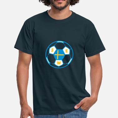 Ballon foot SWEDEN v2 (3C) - T-shirt Homme