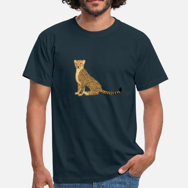 Cheetah cheetah E - Men's T-Shirt