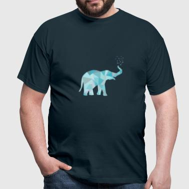 elefant_2all_22_orig_kopie - Männer T-Shirt