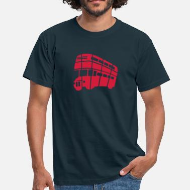 Double Decker Bus London Double-decker bus - Men's T-Shirt