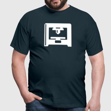 3D Printer - white - Men's T-Shirt