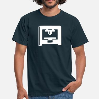 3d Printer 3D Printer - white - Men's T-Shirt