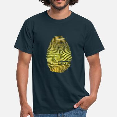 Fingerprint fingerprint - Men's T-Shirt