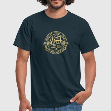 Craft Beer, Original - T-shirt herr