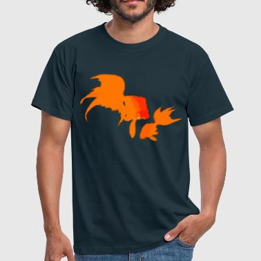 Japanese Gold Fishes - Men's T-Shirt