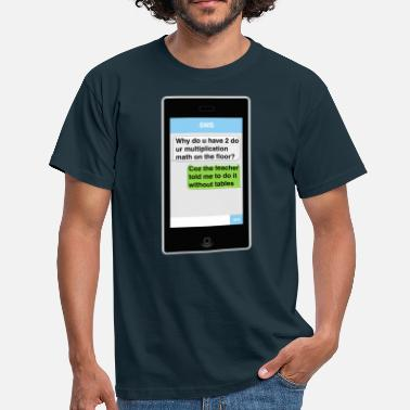 Sms SMS - Math - Men's T-Shirt
