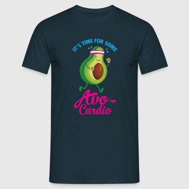 It\'s Time For Some Avo Cardio - Men's T-Shirt