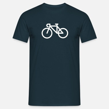 bike icon - Men's T-Shirt